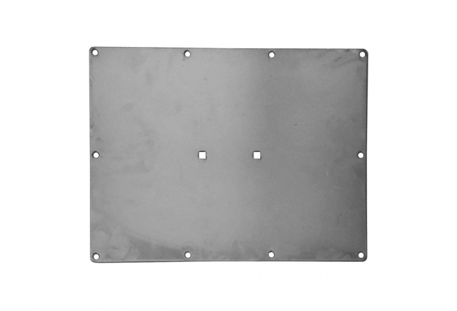 Replaceable Steel Plate for Drop Bar Attachment
